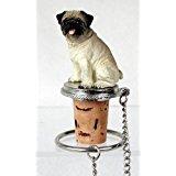 Pug wine-stopper