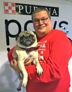 Tim and Fishstick the Pug